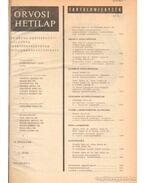 Orvosi Hetilap 1975/116. évfolyam I-II. - Trencséni Tibor