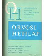 Orvosi Hetilap 1981 I-II. (teljes évfolyam) - Trencséni Tibor