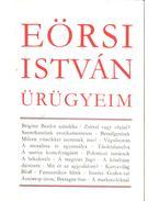 Ürügyeim (dedikált) - Eörsi István
