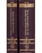 USP DI Volume I-II