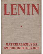 Materializmus és empiriokriticizmus - V. I. Lenin