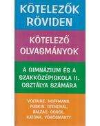 Kötelezők röviden 2. - Vadai István, Dr. Dávid Katalin Zsuzsanna