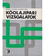 Kőolajipari vizsgálatok - Vajta Lászlóné Dr., Dr. Kerényi Ervin