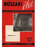 Műszaki élet 1956. szeptember 5. - Valkó Endre (szerk.)