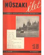 Műszaki élet XI. évf. 1956. augusztus 20 és szeptember 5. (2 szám!) - Valkó Endre (szerk.)