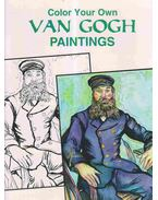 Color Your Own VAN GOGH Paintings - Marty Noble