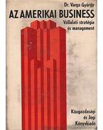 Az amerikai business - Varga György dr.