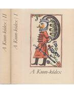 A Kuun-kódex I-II. (hasonmás) - Varga Imre