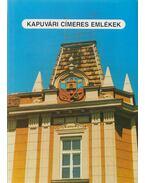 Kapuvári címeres emlékek - Varga József