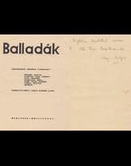 Balladák. Tizenhárom eredeti fametszet. (dedikált) - Varga Nándor Lajos