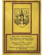 Sepsiszentgyörgy város építészeti emlékei - Varga Nándor Lajos, Székely Zoltán