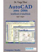 AutoCAD 2004-2006 kezdőknek és haladóknak - Varga Tibor