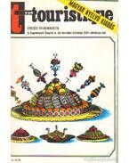 Turista (Vue Touristique) 1973. 4. évfolyam (teljes) - Vécsey György et al. (szerk.)
