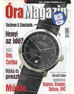Óra magazin 2003. október/november - Venicz Áron