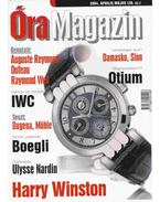 Óra magazin 2004. április/május - Venicz Áron