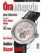 Óra magazin 2004. június/július - Venicz Áron