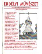 Erdélyi művészet 2002. III. évfolyam 1. szám - Veres Péter