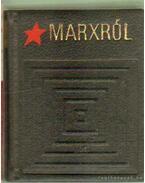 Marxról (mini) (számozott) - Vértes Jenő