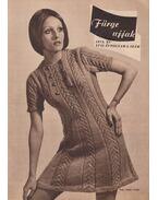 Fürge ujjak 1973/5. - Villányi Emilné (szerk.)