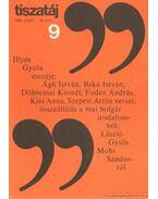 Tiszatáj 1980. szeptember 34. évf. 9. - Vörös László