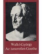 Az ismeretlen Goethe - Walkó György