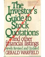 The Investors's Guide to Stock Quotations  and Other Financial Listings - Warfield, Gerald