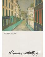 Maurice Utrillo - Warnod, Jeanine