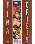 Final Crisis: Secret Files 1. - Wein, Len, Morrison, Grant, Tony Shasteen