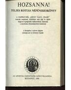 Hozsanna! - Teljes kottás népénekeskönyv - Werner Alajos (szerk.), Bárdos Lajos