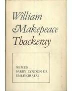 Nemes Barry Lyndon úr emlékiratai - William Makepeace Thackeray