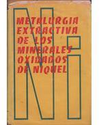 Metalurgia extractiva de los minerales oxidados de niquel - Wladimir Octavio Garcia