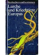Lurche und Kriechtiere Europas - Wolf-Eberhard Engelmann Dr., Jürgen Fritzsche, Rainer Günther Dr., Fritz Jürgen