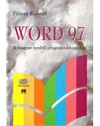 Word 97 - Pétery Kristóf