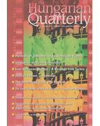 The Hungarian Quarterly Volume 49. Autumn 2008 - Zachár Zsófia