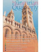 The Hungarian Quarterly Volume 51. Spring 2010 - Zachár Zsófia
