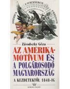 Az Amerika-motívum és a polgárosodó Magyarország - Závodszky Géza