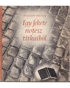 Egy fekete notesz titkaiból - Zoltán Péter