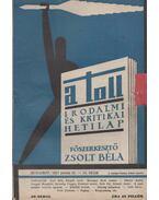 A toll I. évf. 10 sz. (1929. június 23.) - Zsolt Béla