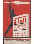 A toll I. évf. 13. sz. (1929. július 14.) - Zsolt Béla