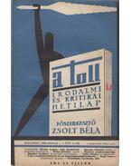A toll I. évf. 14. sz. (1929. július 21.) - Zsolt Béla