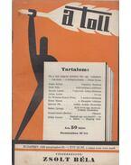 A toll I. évf. 24. sz. (1929. szeptember 29.) - Zsolt Béla