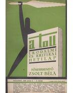 A toll I. évf. 28. sz. (1929. június 9.) - Zsolt Béla