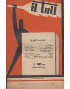 A toll I. évf. 33. sz. (1929. december 1.) - Zsolt Béla