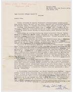 Lehel Ferenc (levél) - Lehel Ferenc
