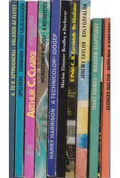 10 db angol sci-fi regény - Régikönyvek