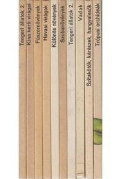 10 db ismeretterjesztő könyv - Régikönyvek