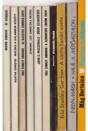 10 db vegyes krimi - Több szerző - Régikönyvek