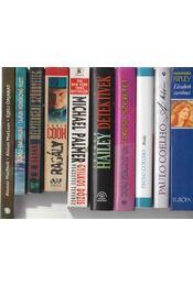 10 db vegyes regény - Régikönyvek