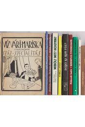 10 db vegyes szakácskönyv - Több szerző - Régikönyvek