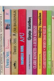 10 db vegyes szerelmes regény - Régikönyvek